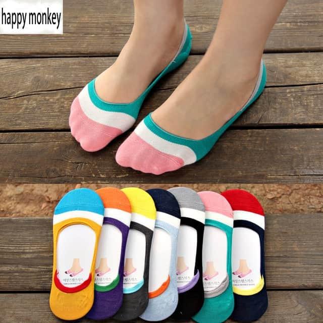 sample description for rainbow socks