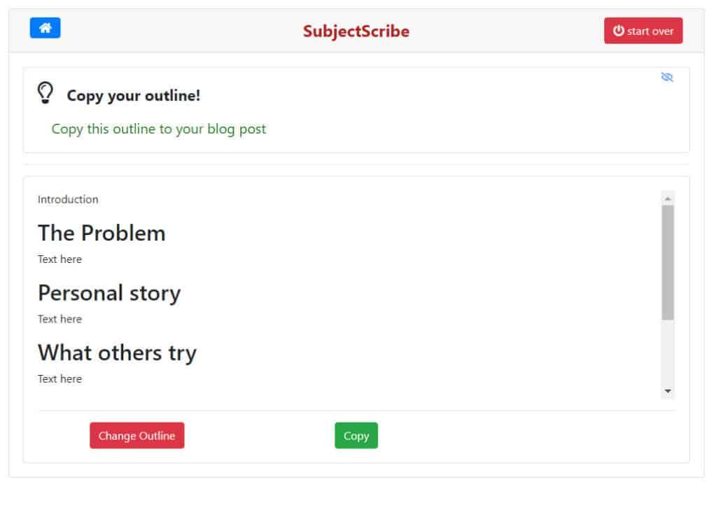 blog outline 2