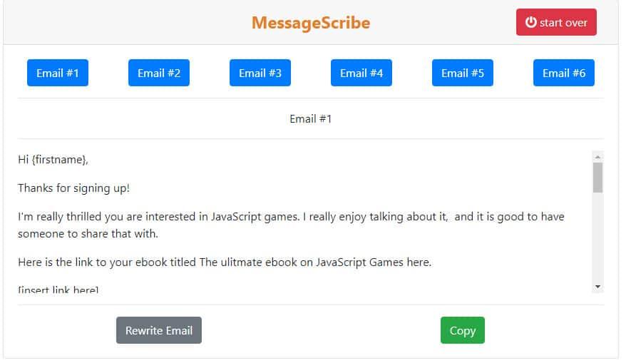 email marketing generator